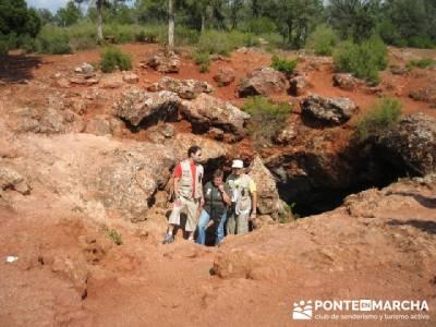 Cueva de Montesinos - El Quijote; alta montaña; puente de la constitucion